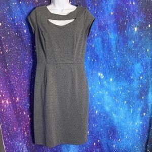 Banana Republic- Gray Sheath Dress size 4